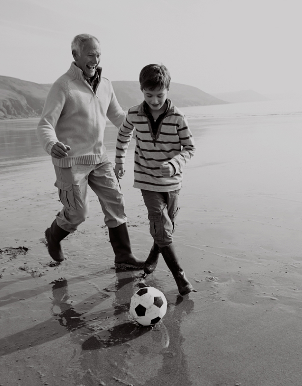 Playing-soccer-with-grandpa